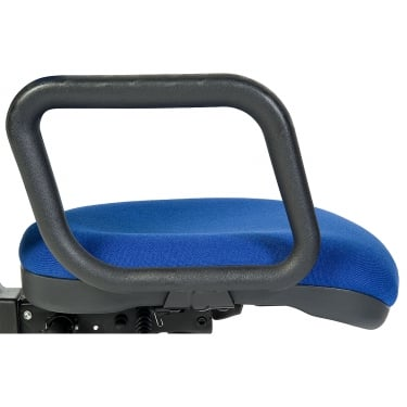 Teknik Black Fixed Admiral Chair Arms (1609)