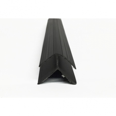 Black PVC Plastic Cladding External Corner