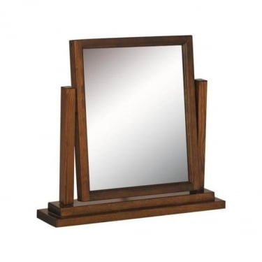 Boston Dark Lacquer Ash Mirror