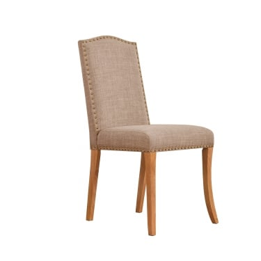 Bowie Dining Chair Set Of 2, Beige