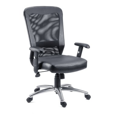 Breeze Black Executive Chair