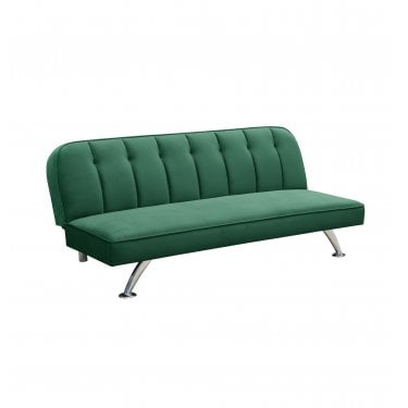 Brighton 3 Seater Futon, Green