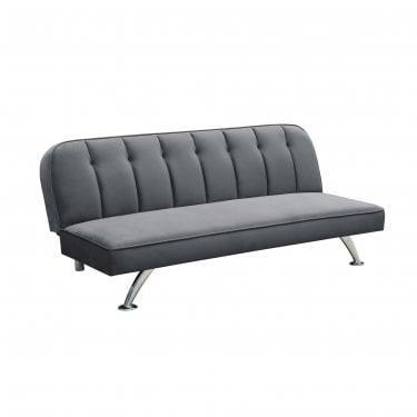 Brighton 3 Seater Futon, Grey