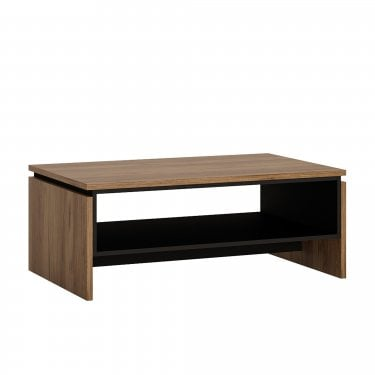 Brolo Walnut & Dark Panel Coffee Table