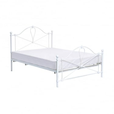 LPD Furniture Bronte Cream Bed
