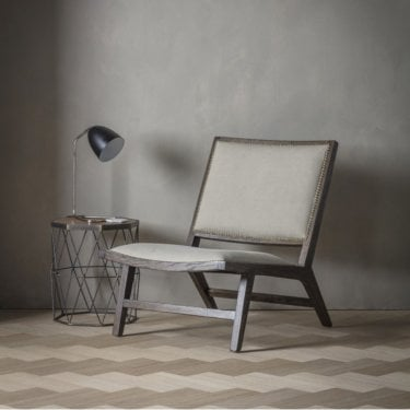 Carnaby Occasional Chair, Stone White