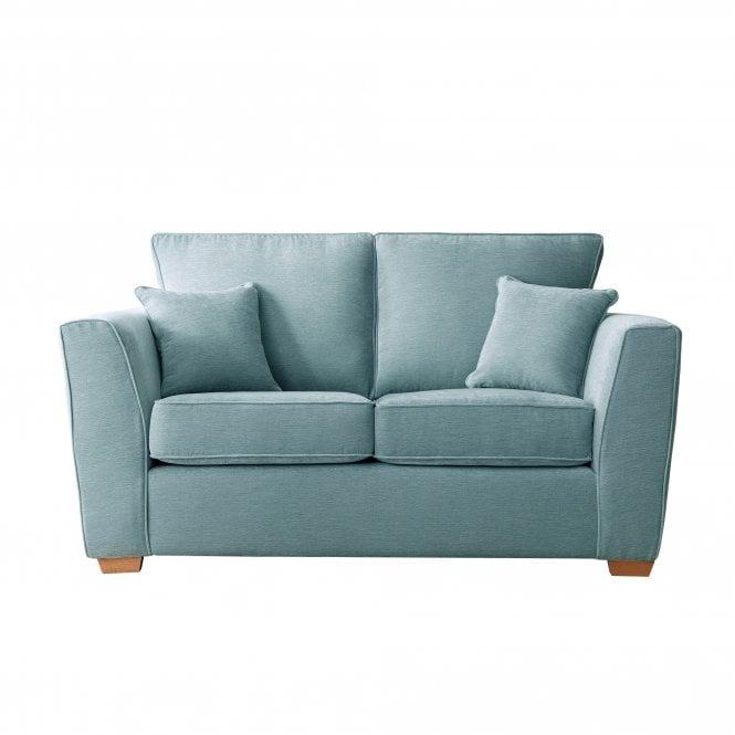 Carrington 2 Seater Sofa, Manhattan Lagoon Velvet
