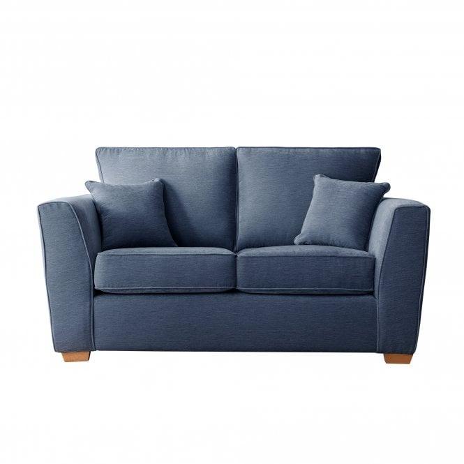 Carrington 2 Seater Sofa, Manhattan Navy Velvet