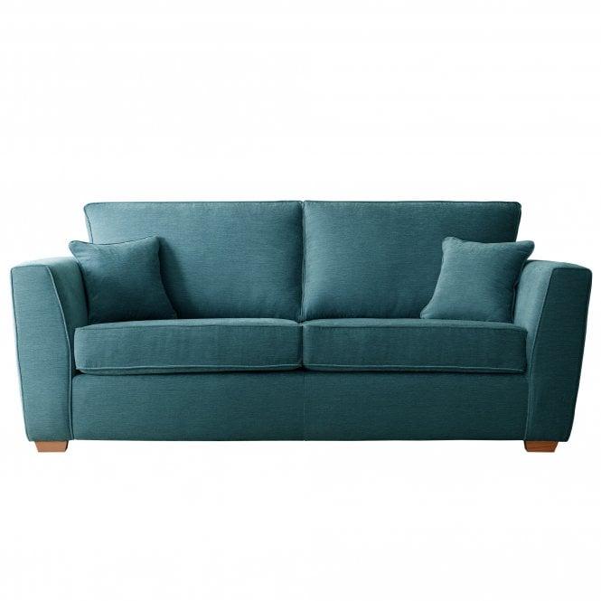 Carrington 3 Seater Sofa, Manhattan Emerald Velvet