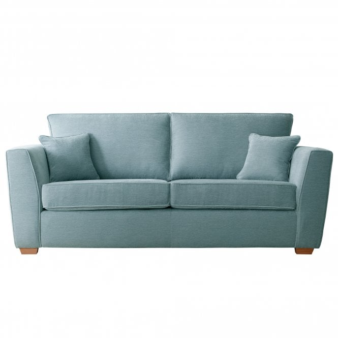Carrington 3 Seater Sofa, Manhattan Lagoon Velvet