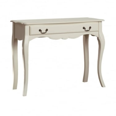 Chantilly Antique Off White Dressing Table
