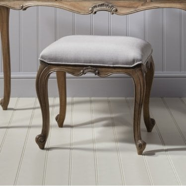 Chic Dressing Table Stool, Mindy Ash