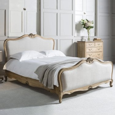 Chic Kingsize French Bed, Mindy Ash