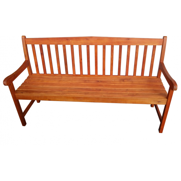 Classic Lanai 3 Seater Hardwood Garden Bench from Leader