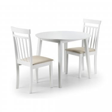 Coast Dining Set Of 2, White
