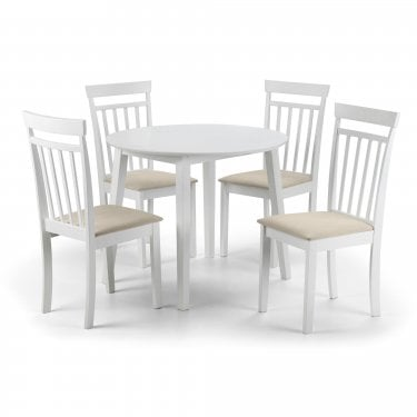 Coast Dining Set Of 4, White