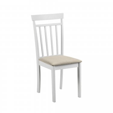 Coast White & Ivory Dining Chair