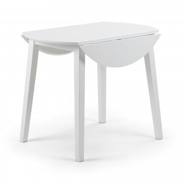 Coast White & Ivory Extending Dining Table