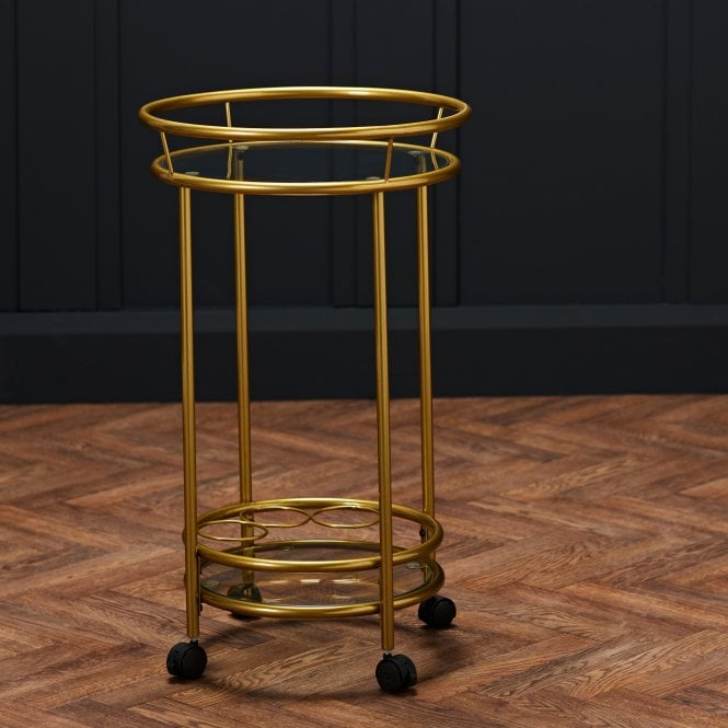 Collins Drinks Trolley, Gold