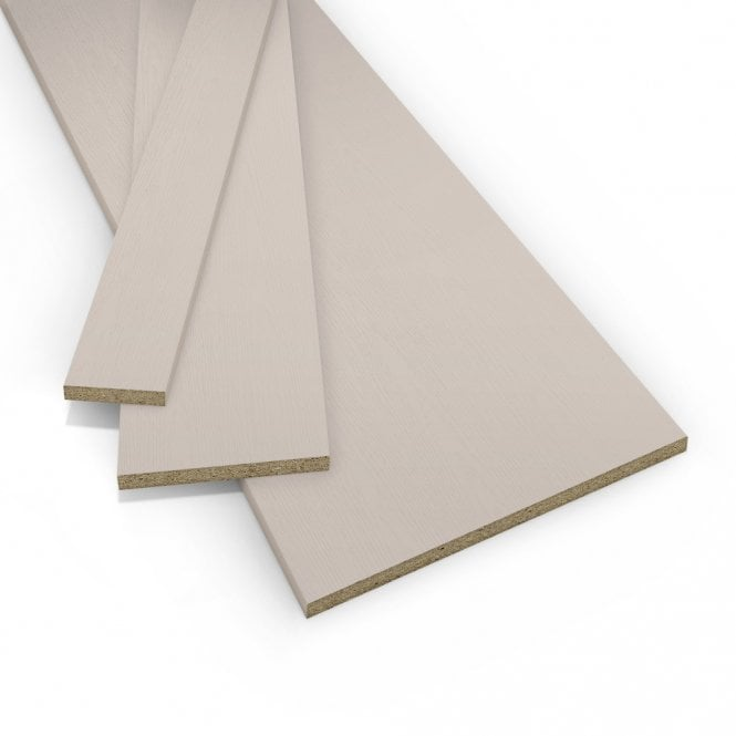 Contiplas 18mm Furniture Board, Cashmere Woodgrain