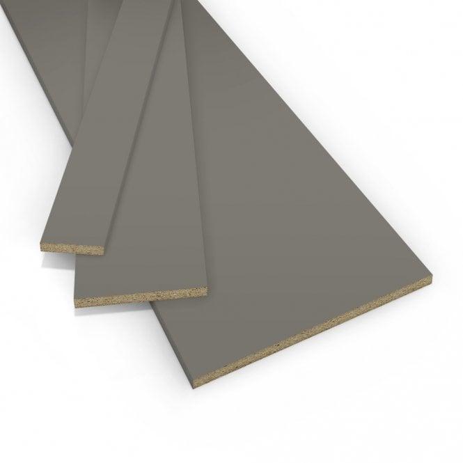 Contiplas 18mm Furniture Board, Dust Grey