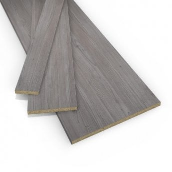 Leader Contiplas 18mm Furniture Board, Grey Nordic Wood