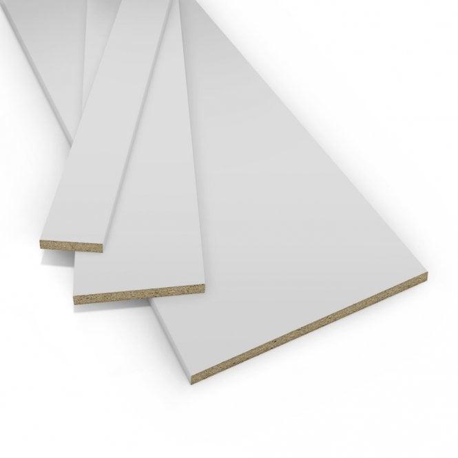 Contiplas 18mm Furniture Board, Light Grey