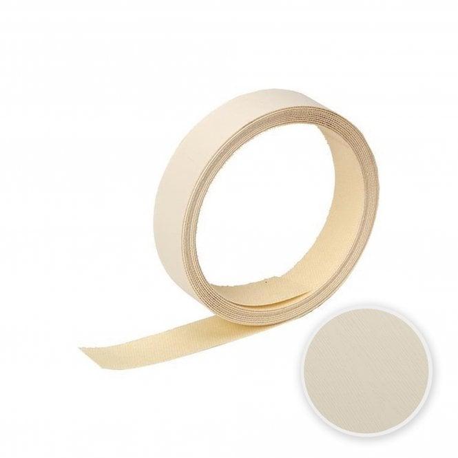 Contiplas Pre-Glued Laminated Melamine Edging Strip, Mussell Woodgrain