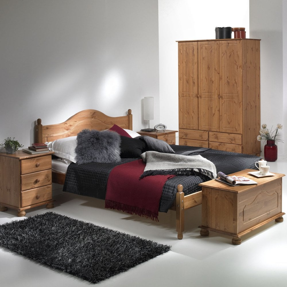 Furniture To Go Copenhagen Pine Bed Leader Stores