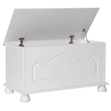 Furniture To Go Copenhagen White Painted Blanket Box (1010801)