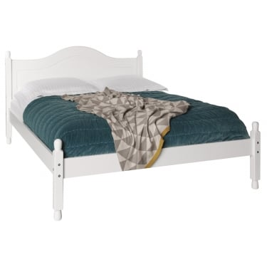 Copenhagen White Painted Double Bed