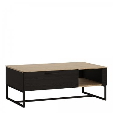 Cordoba Jackson Hickory & Black Accents Coffee Table (4360769)