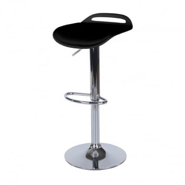 Core Products Aspen ASBS3B Black Bar Stool With Padded Seat (Pair)