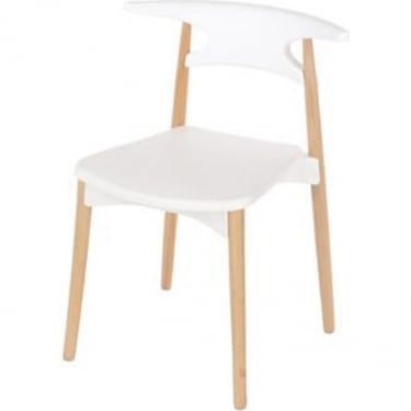 Core Products Aspen ASCH4W White Chair