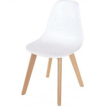 Core Products Aspen ASCH5W White Chair