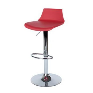 Core Products Aspen Red Plastic Adjustable Bar Stool Pair (ASBS2R)