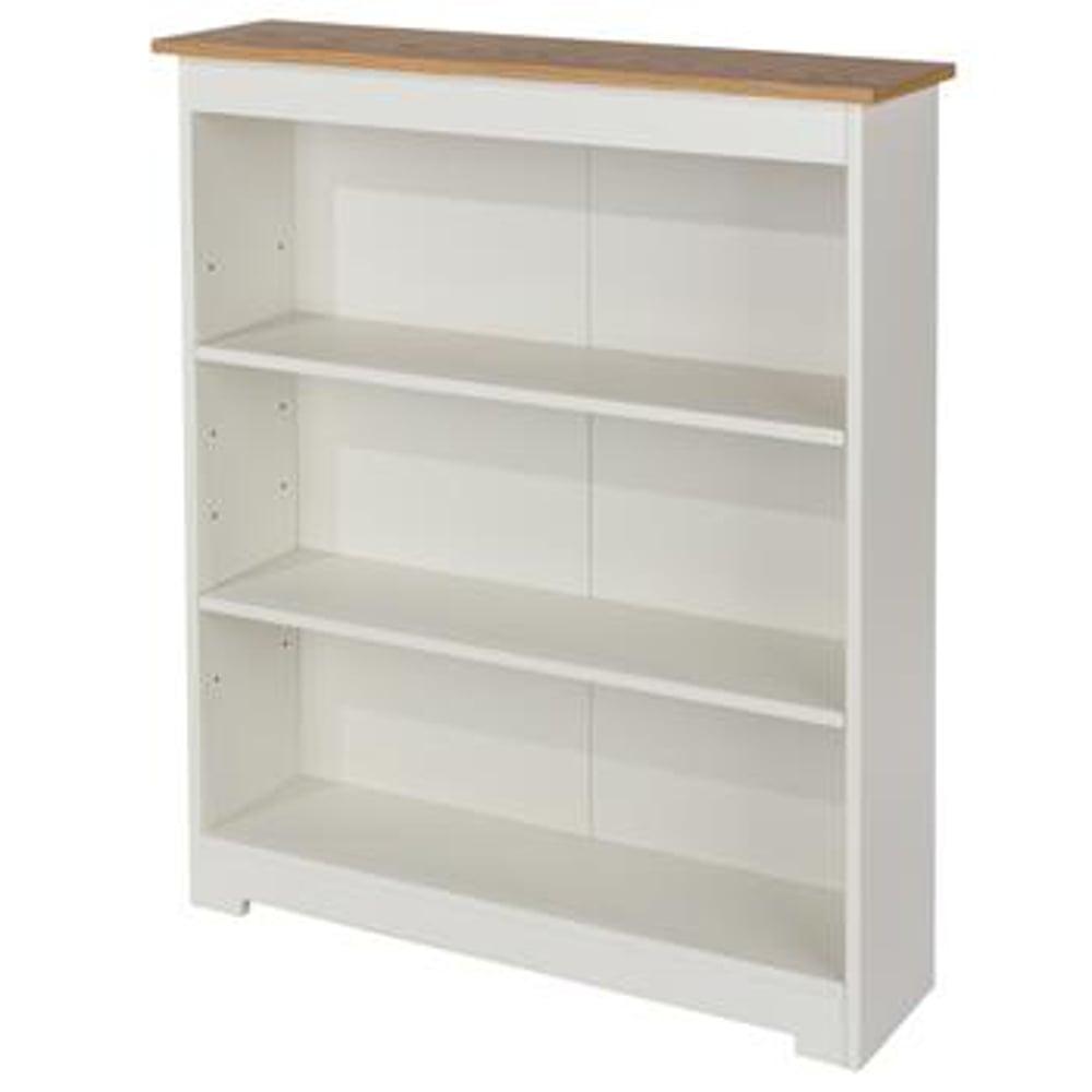 furniture curved oak three living ez wide bookcase shelf