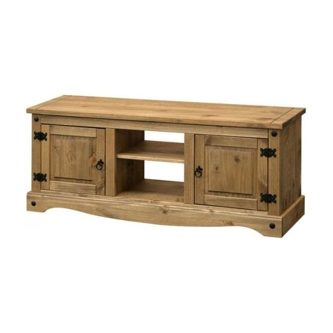 Core Products Corona Antique Wax Pine Tv Unit Leader Stores