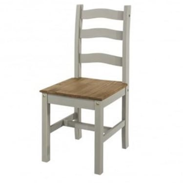 Core Products Corona Grey Washed Dining Chair (Pair)