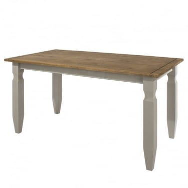 Core Products Corona Grey Washed Dining Table