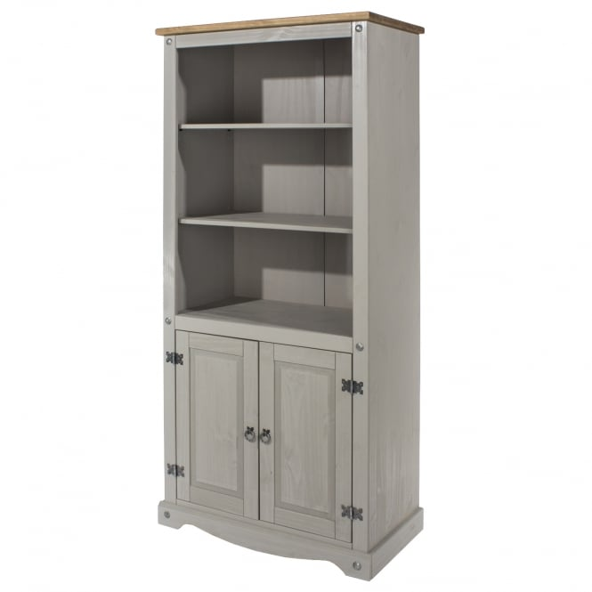 finish contemporary valsa or grey and section temahome pure bookcase in white furniture bookcases mattegrey matte bookshelf shelves