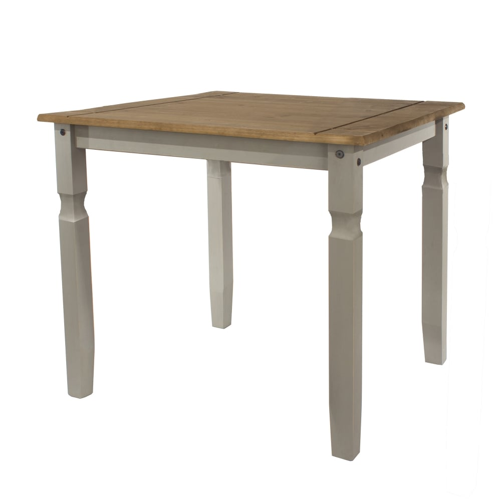 9b886a56b2ad Core S Corona Grey Washed Effect Pine Dining Table Leader