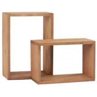 Core Products Corona Set Of 2 Rectangular Wall Cubes