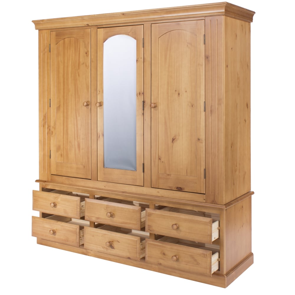 Core products edwardian door drawer wardrobe with