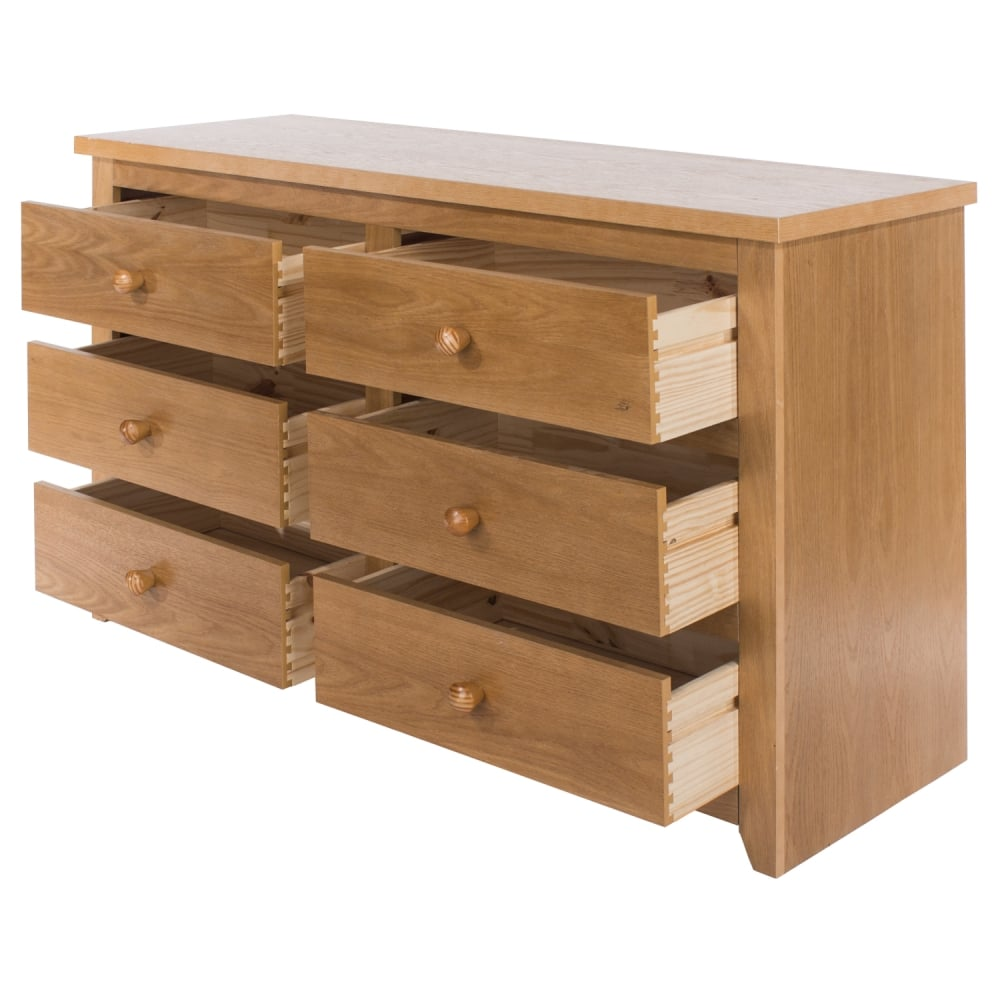 Core Products Hamilton 3 3 Drawer Wide Chest Leader Stores