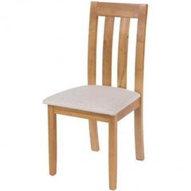 Core Products Hamilton HMCH2 Dining Chair With Cream Fabric Seat Pad