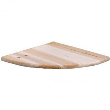 Core Products Natural Wood 285x285mm Corner Shelf Kit (CS112)