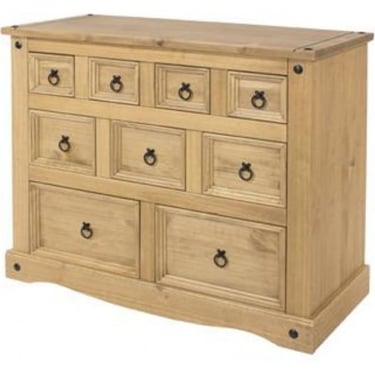 Core Products Corona 9 Drawer Merchants Chest
