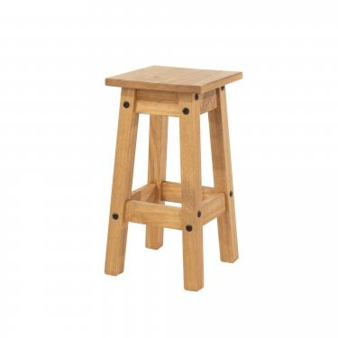 Corona Antique Pine Stool