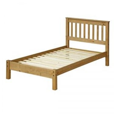 Corona Antique Wax Pine 4'6 Bed